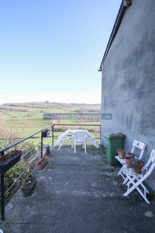 Maison avec vue imprenable à vendre dans le Morvan