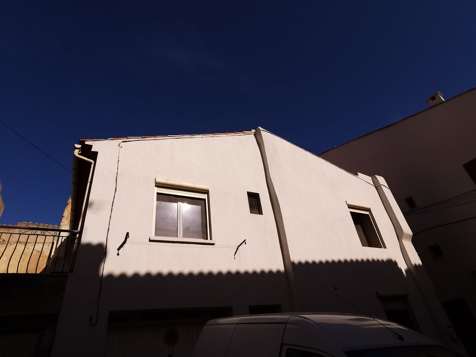 maison de ville avec terrasse ET garage