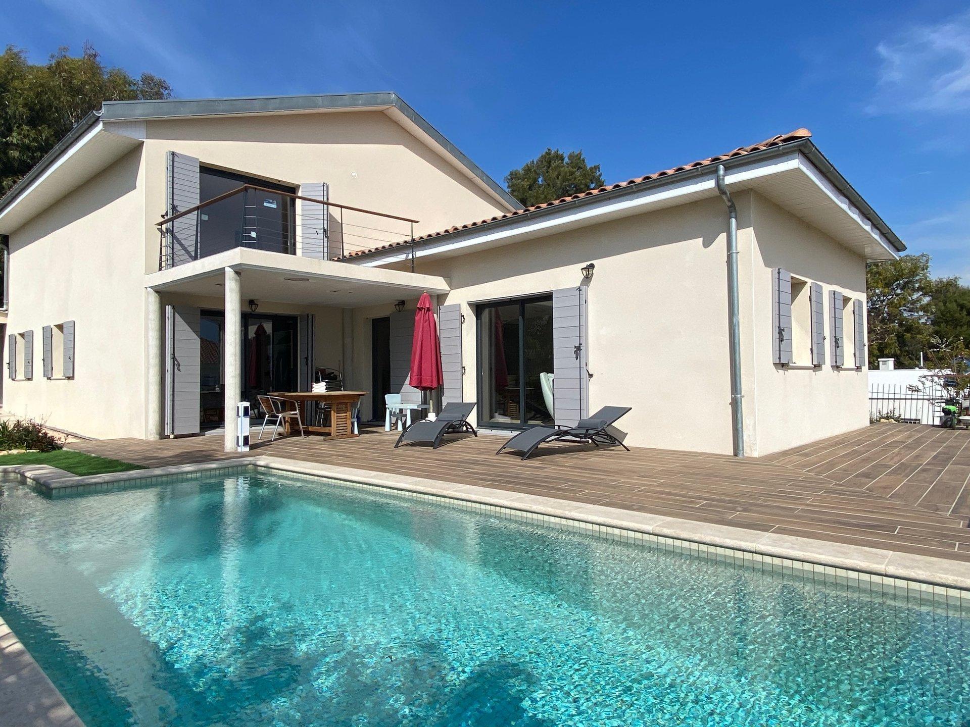 Villa Contemporaine Vue Mer - Cagnes sur mer
