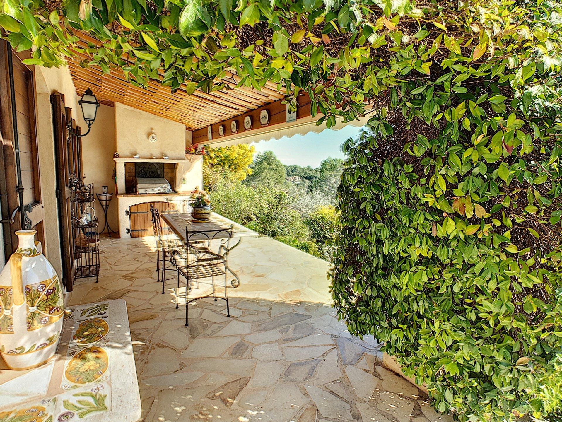 Achat/vente villa 6P + dépendance, vue panoramique, Le Tignet