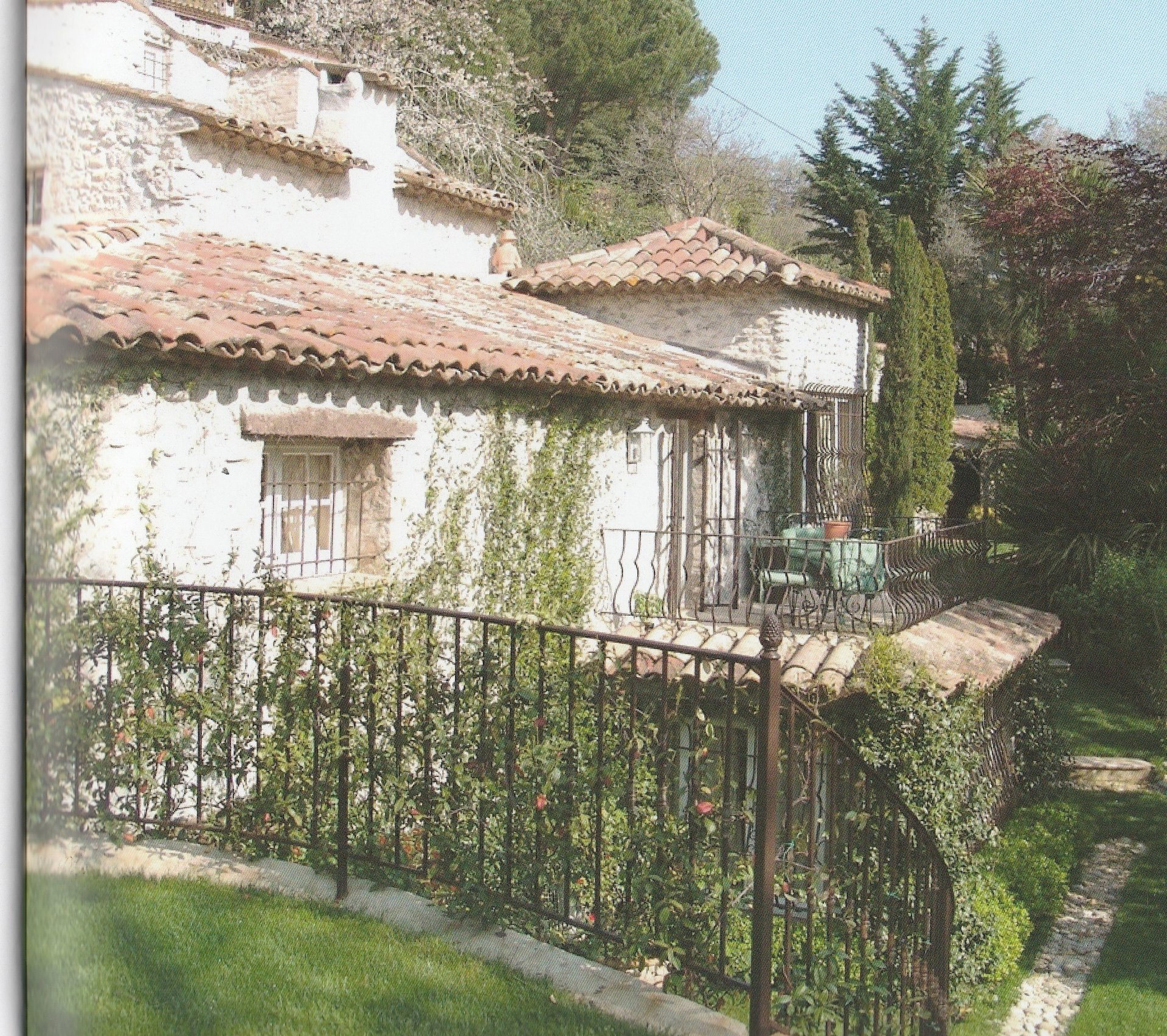 Saint-Paul de Vence, 18th century farmhouse