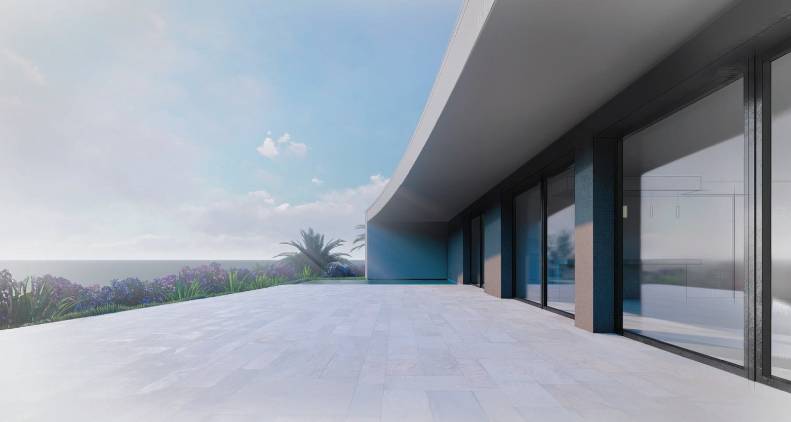 SEA VIEW PENTHOUSE IN A NEW BUILDING PROJECT AT SAT RAPHAEL