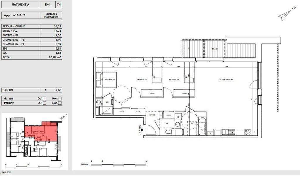 Vente Appartement - Megève Demi-Quartier