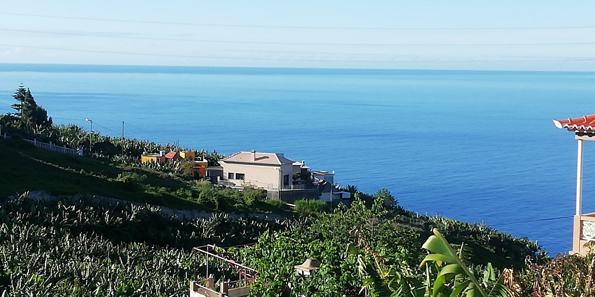 Building land with ocean view in Ponta do Sol
