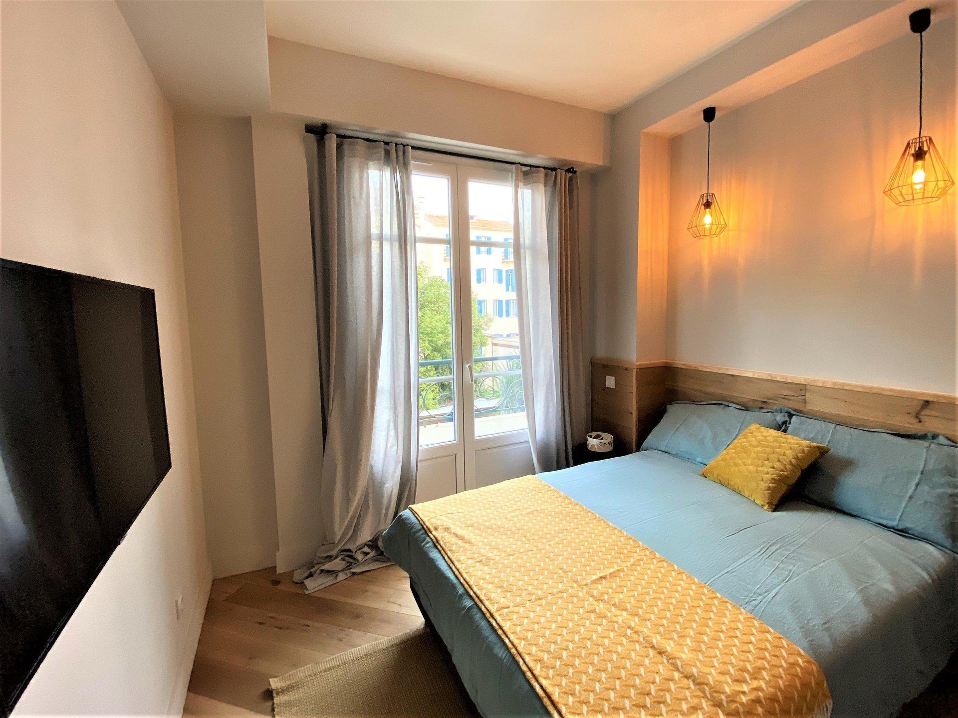 Nice - Promenade des Anglais - Cosy 2BD renovated apartment