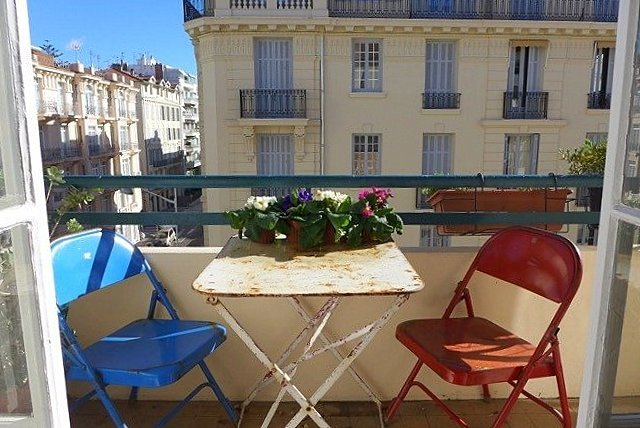 SALE Apartment 3 Rooms 92m² Nice Musiciens Balconies