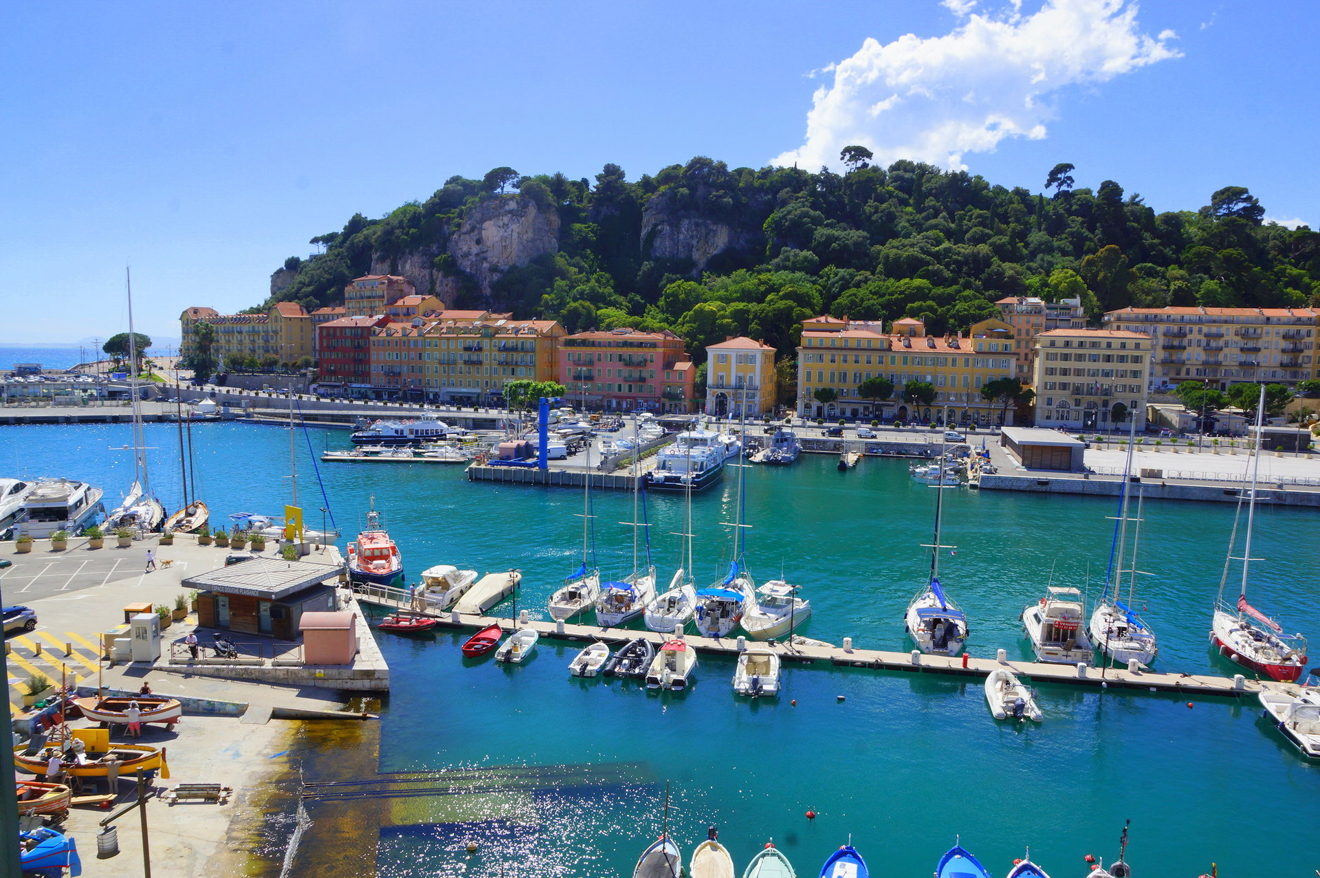 2 ROOMS APARTMENT NICE LE PORT