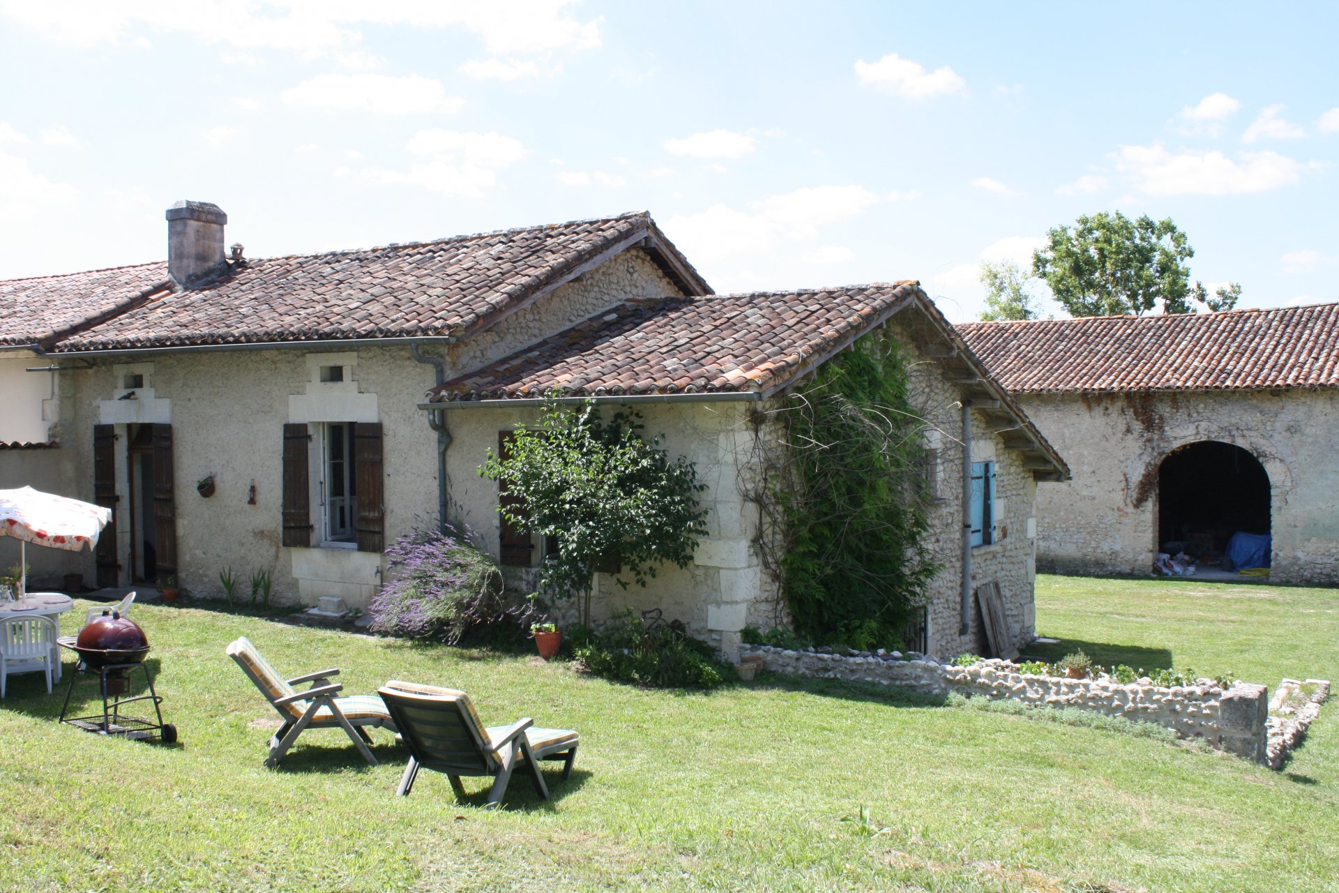 Attractive stone property with outbuildings