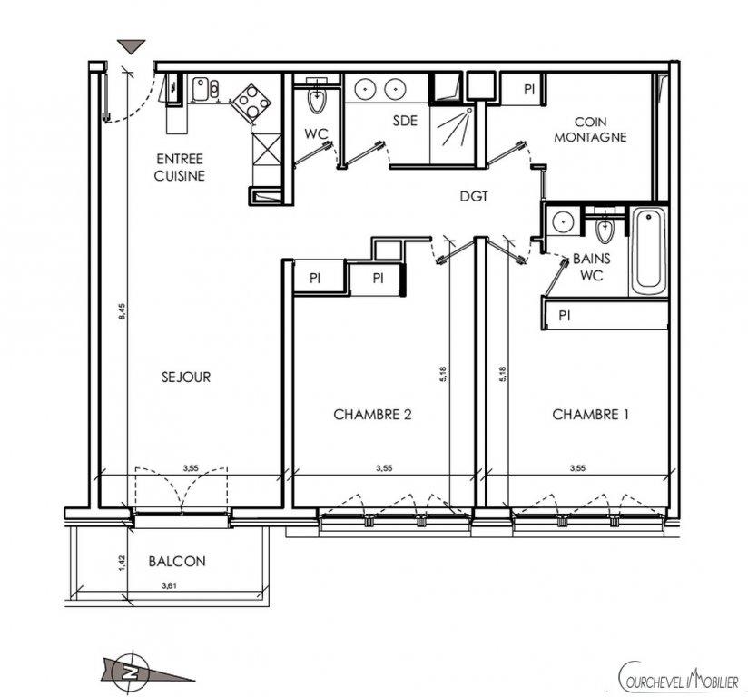 Nieuwbouw Appartement - Courchevel Village 1550