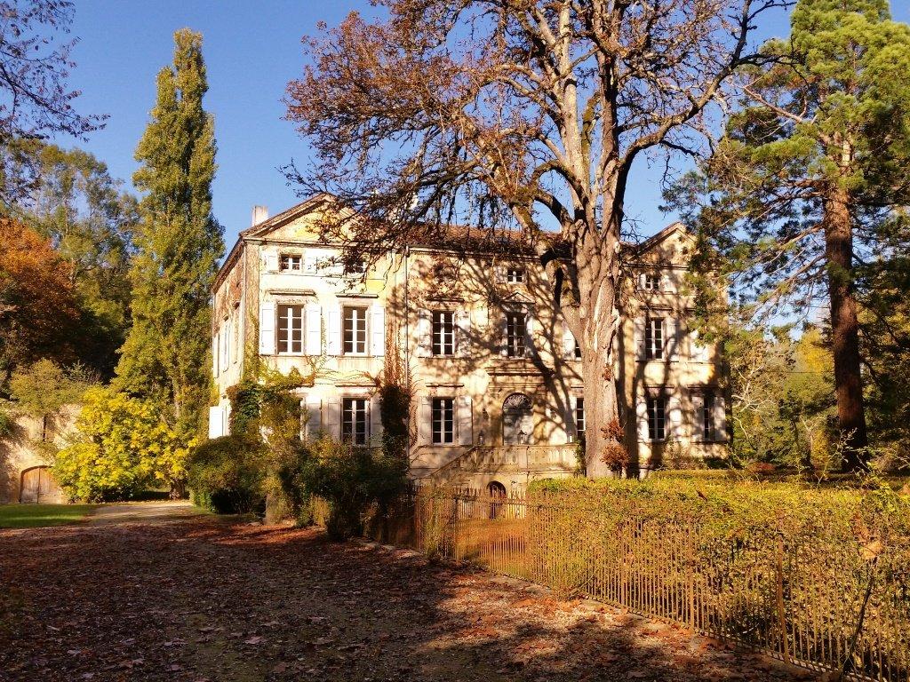 Château romantique du 18ème siècle