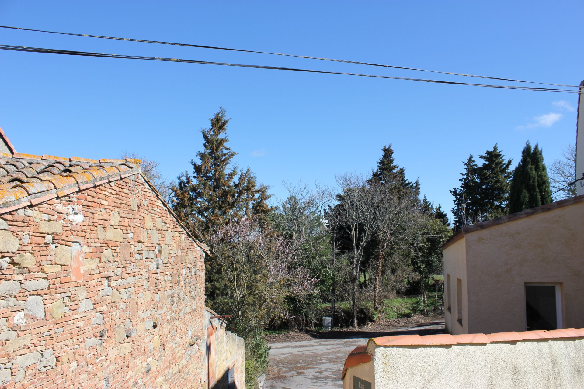 Village setting, close to Carcassonne