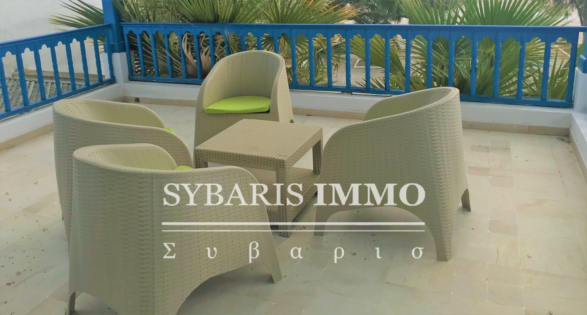 LOCATION S+2 MEUBLE VUE SUR MER SIDI BOUSAID Tunis
