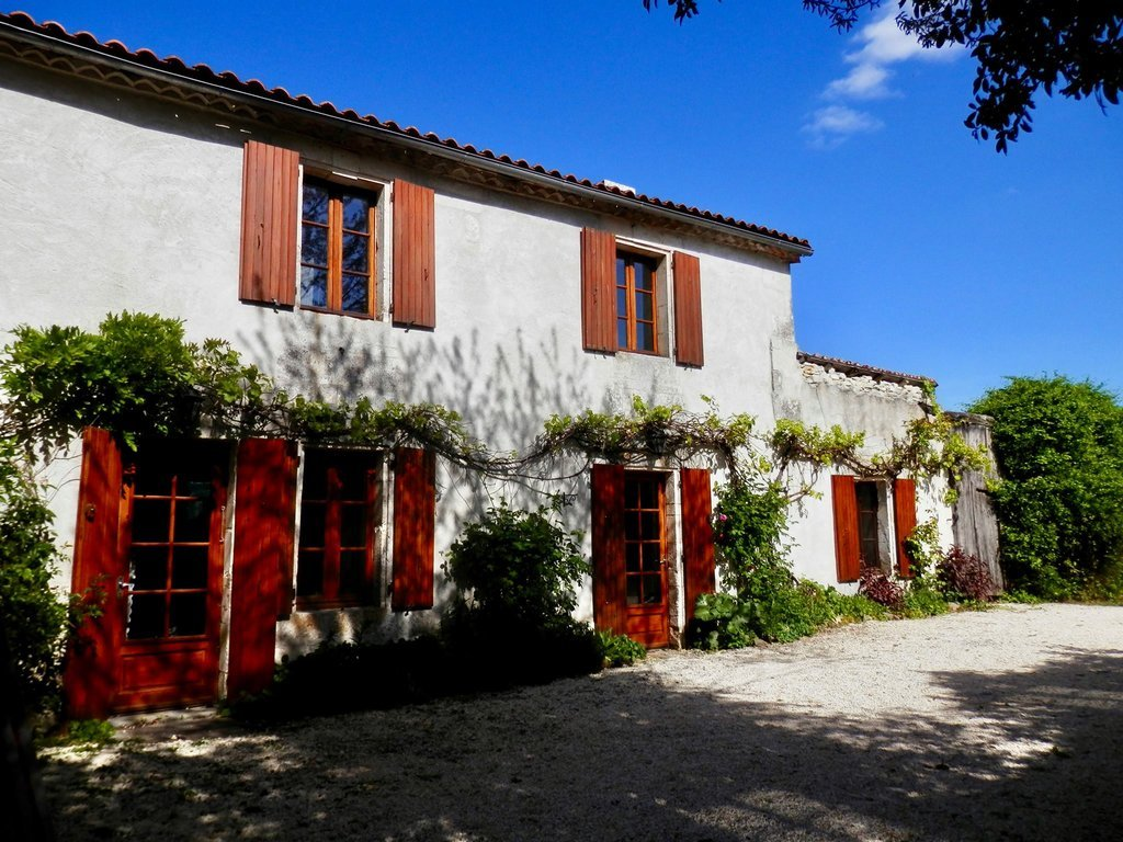 Character village house with 3 bedroom gite and pool