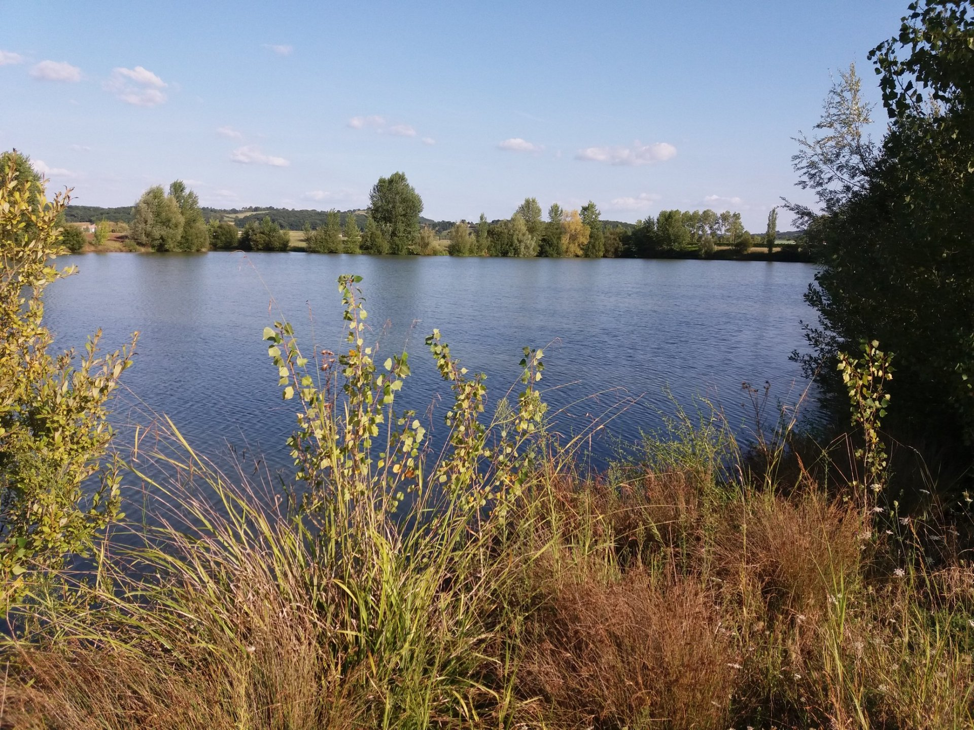 Nice clean lake of 7 hectares with carp surrounded by 8 hectares good land
