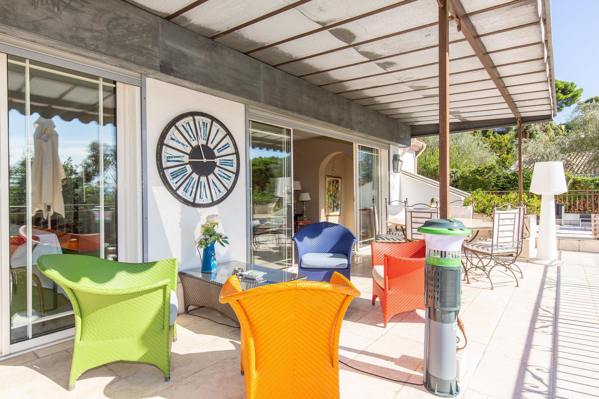 Le Cannet Résidentiel Sublime Villa avec piscine