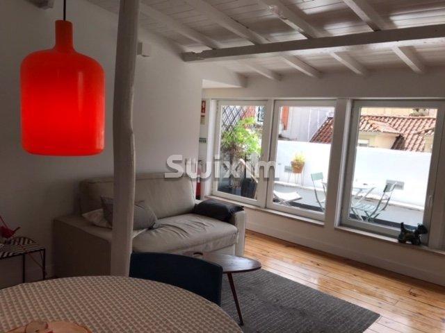 Apartamento T1 com terraço