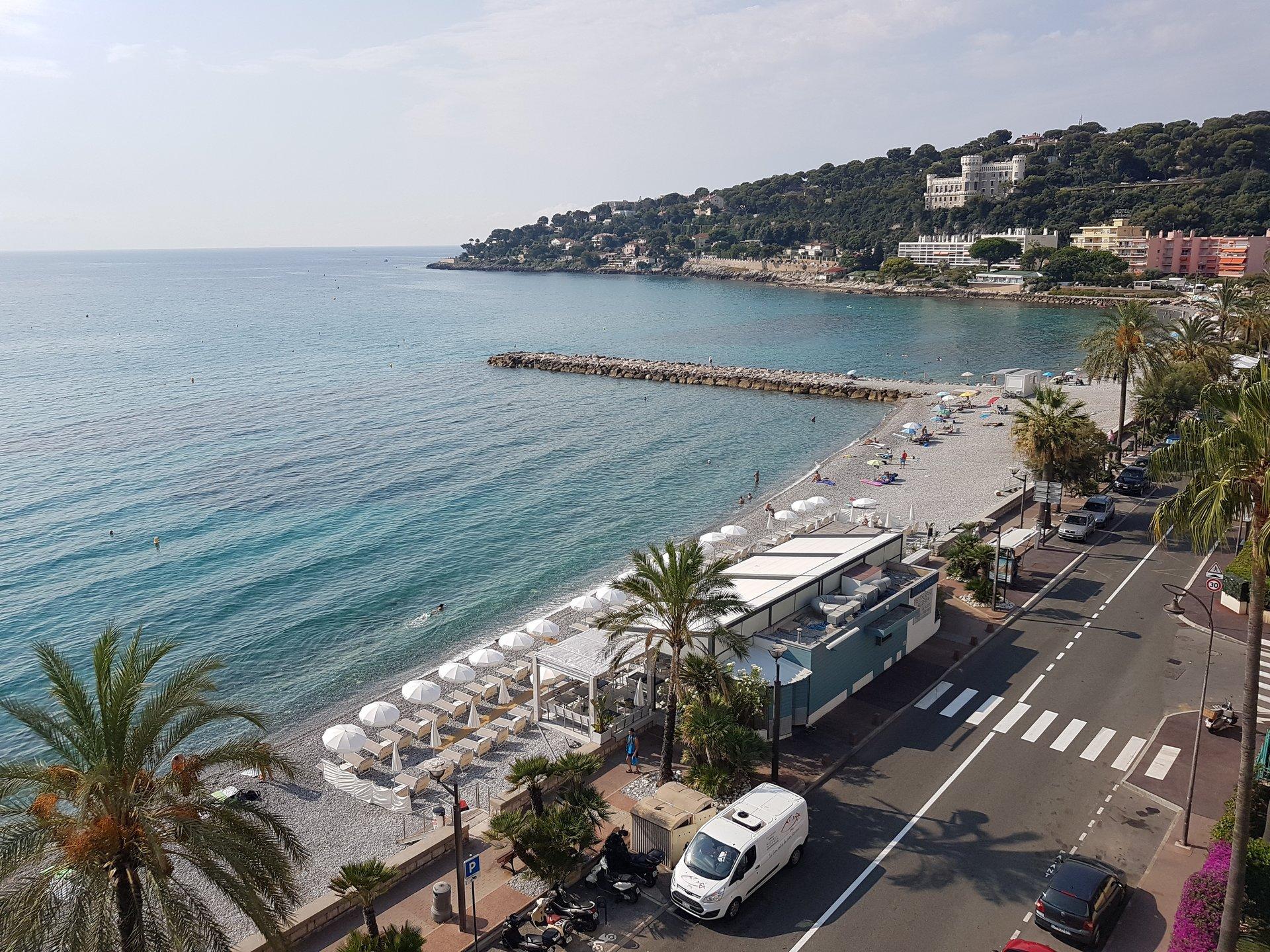 Roquebrune-Cap-Martin dernier étage front de mer