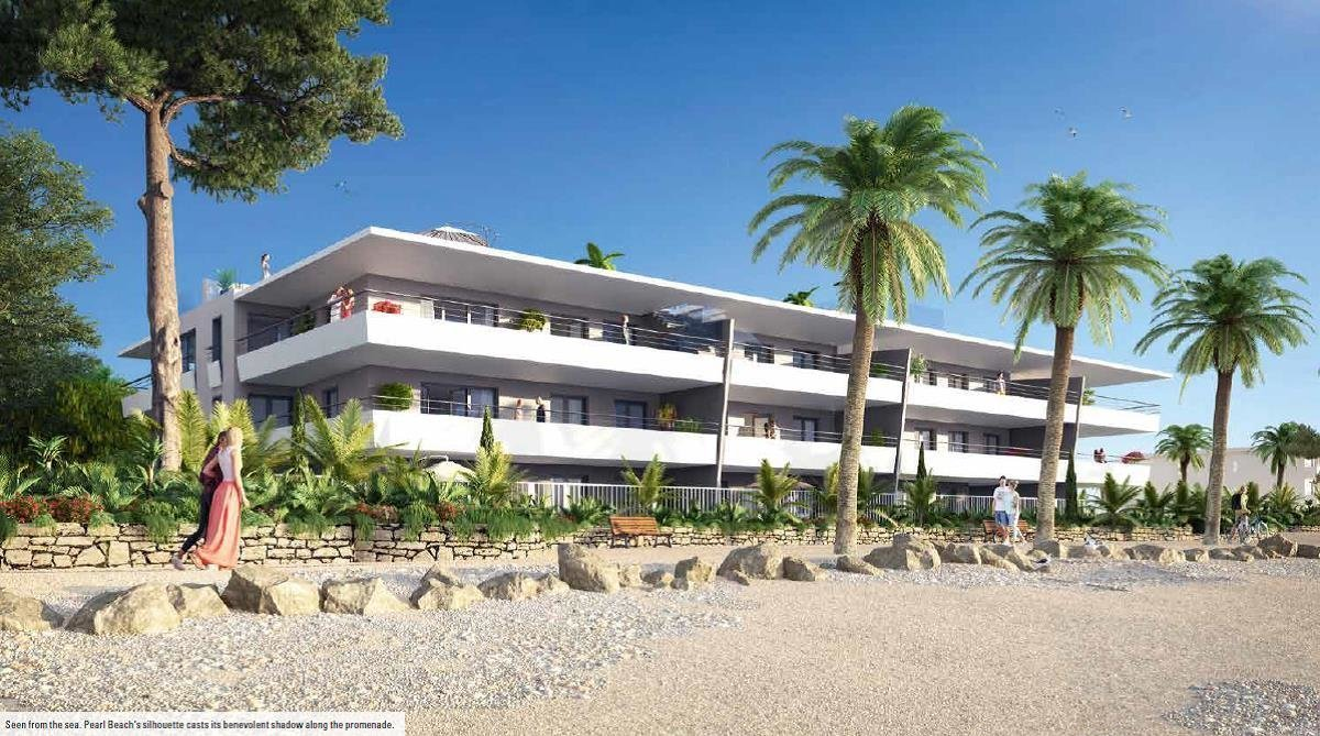 Villeneuve Loubet/ New Building PEARL BEACH