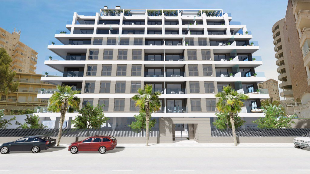 New build 2-bedroom apartment in Calpe
