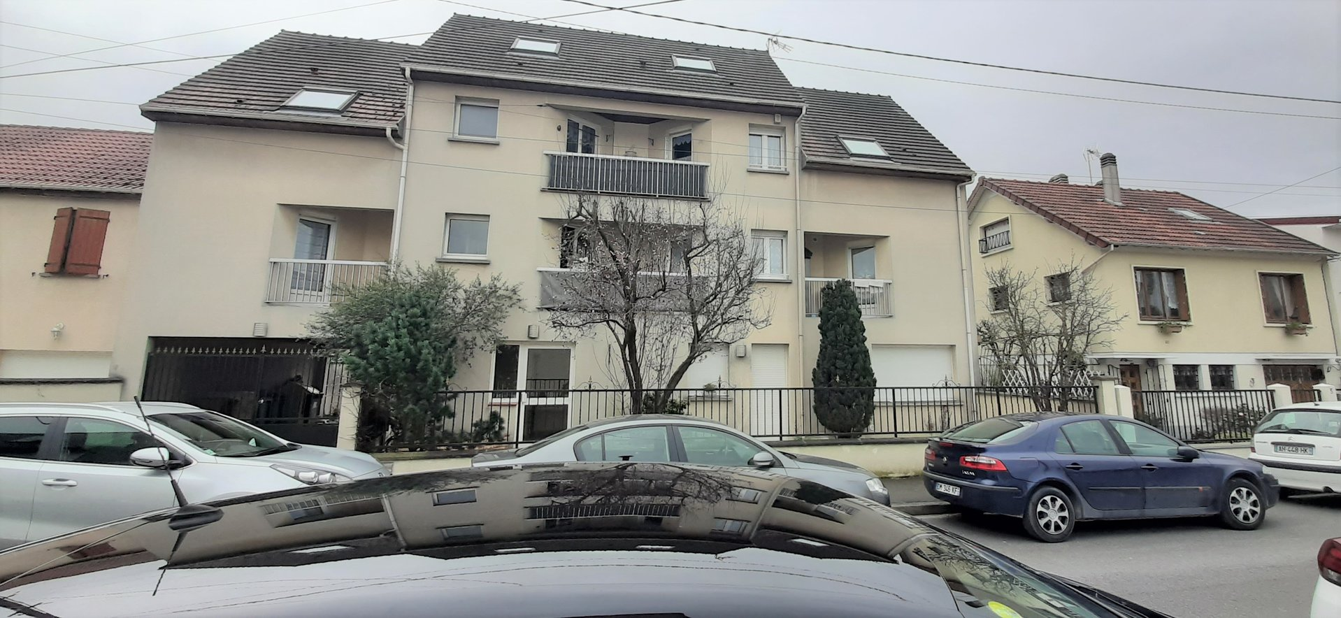 Appartement F5 95 m² avec parking et loggias