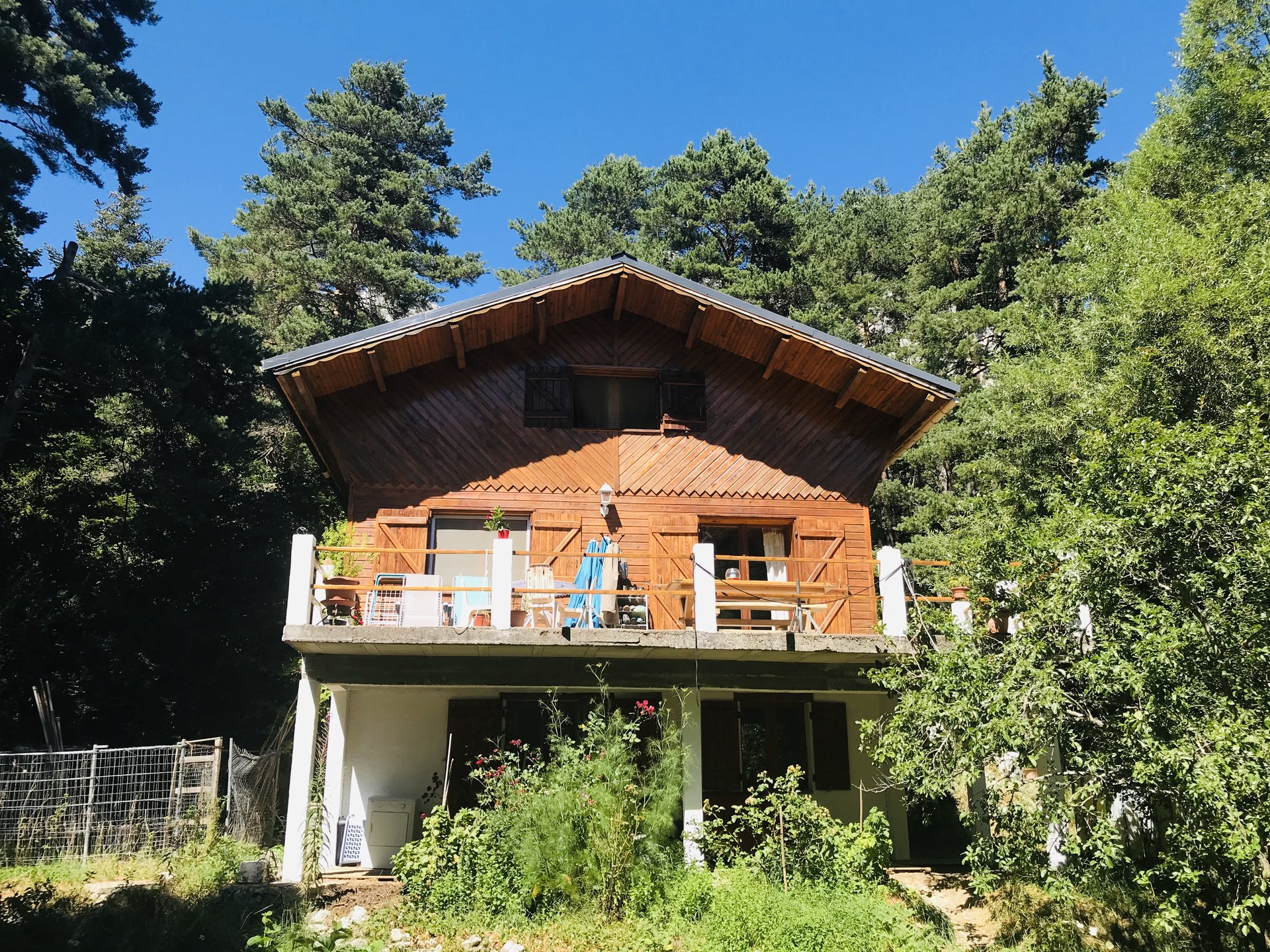 VENTE CHALET CAILLE