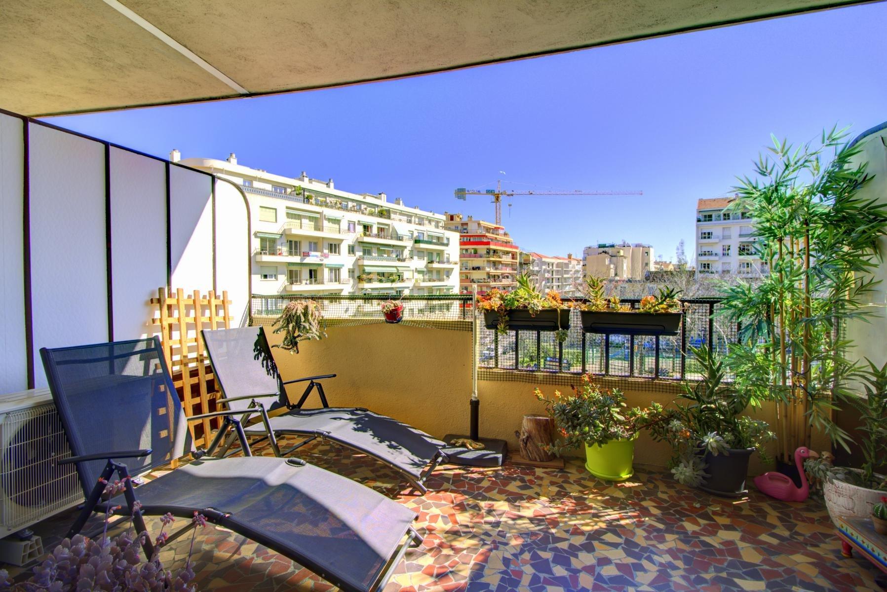 3 Pièces Terrasse à vendre, Nice, Cessole