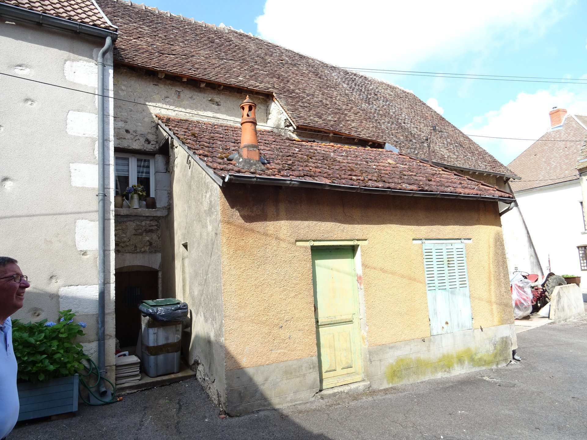 Maison dans bourg