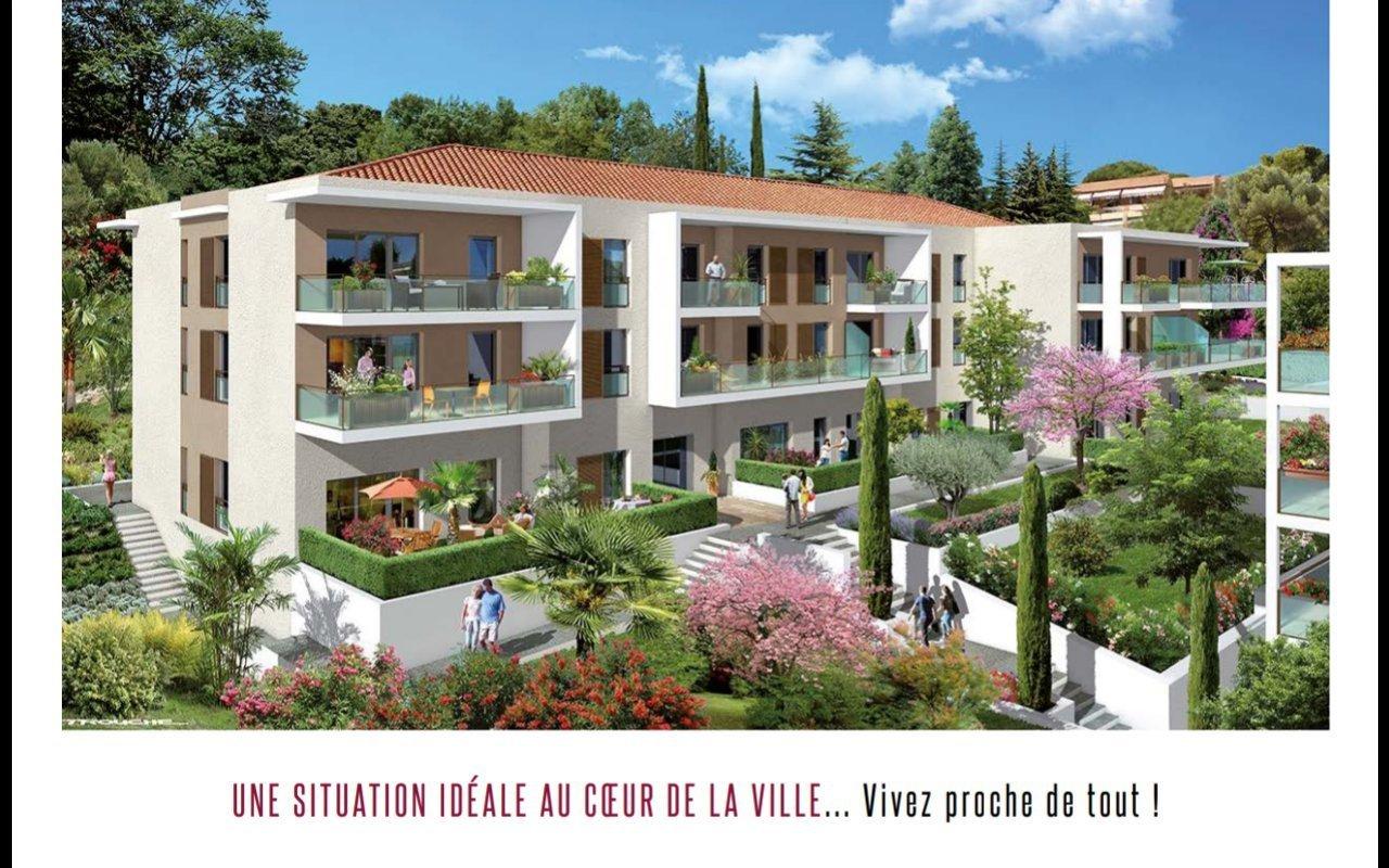 Cagnes-sur-Mer/ New Building  LES TERRASSES DU CHATEAU