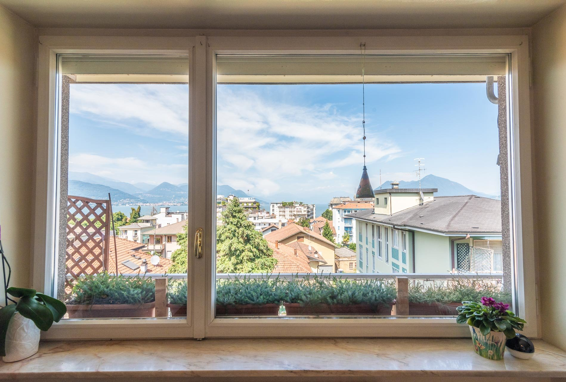 Apartment for sale in Stresa centre - view