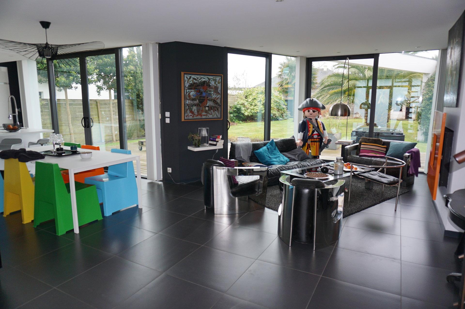EXCLUSIVITÉ - MOULIN BLANC - SUPERBE MAISON D'ARCHITECTE