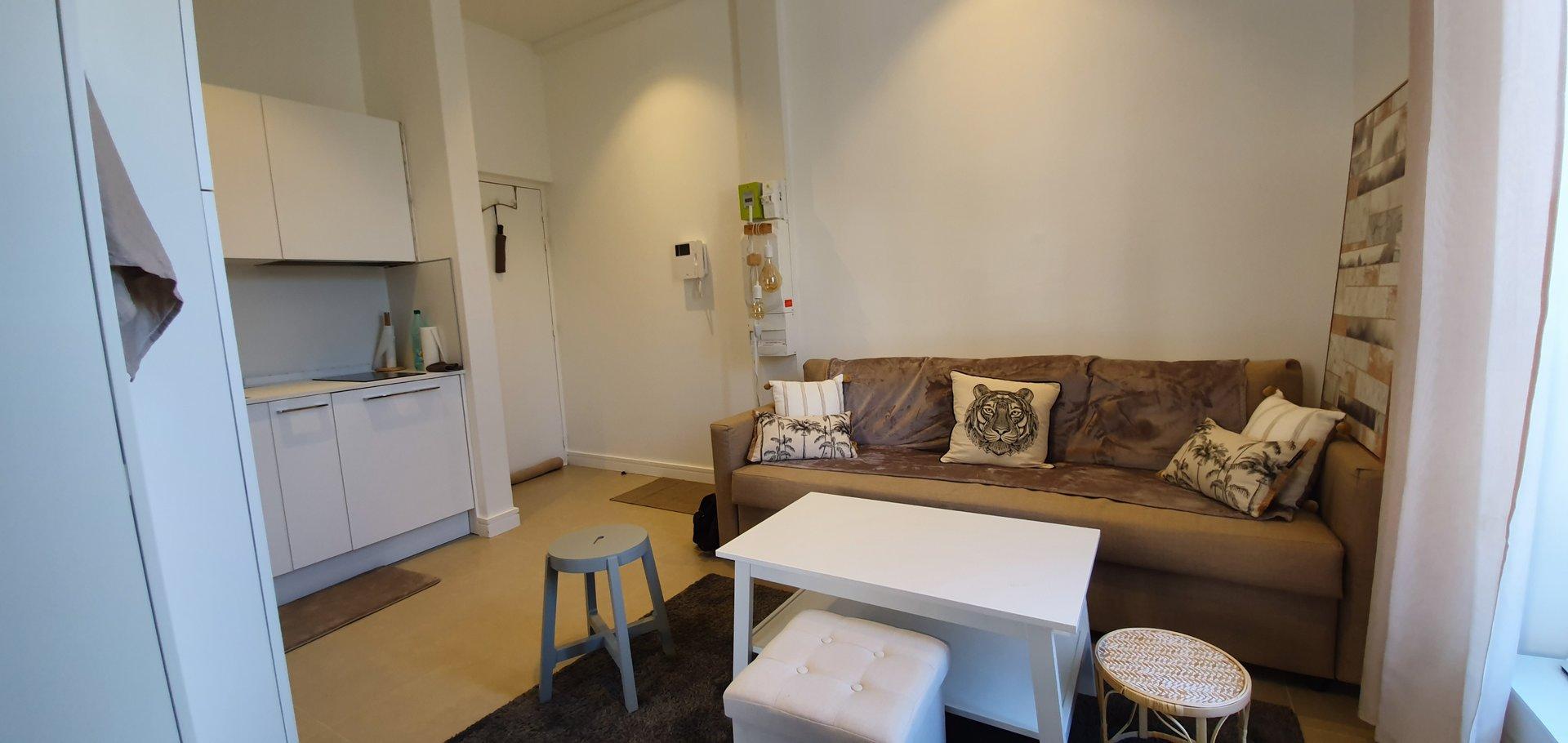 Studio meublé Mont boron
