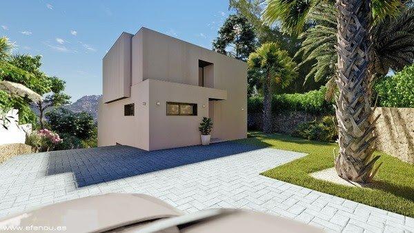 Modern nieuwbouwproject in Moraira