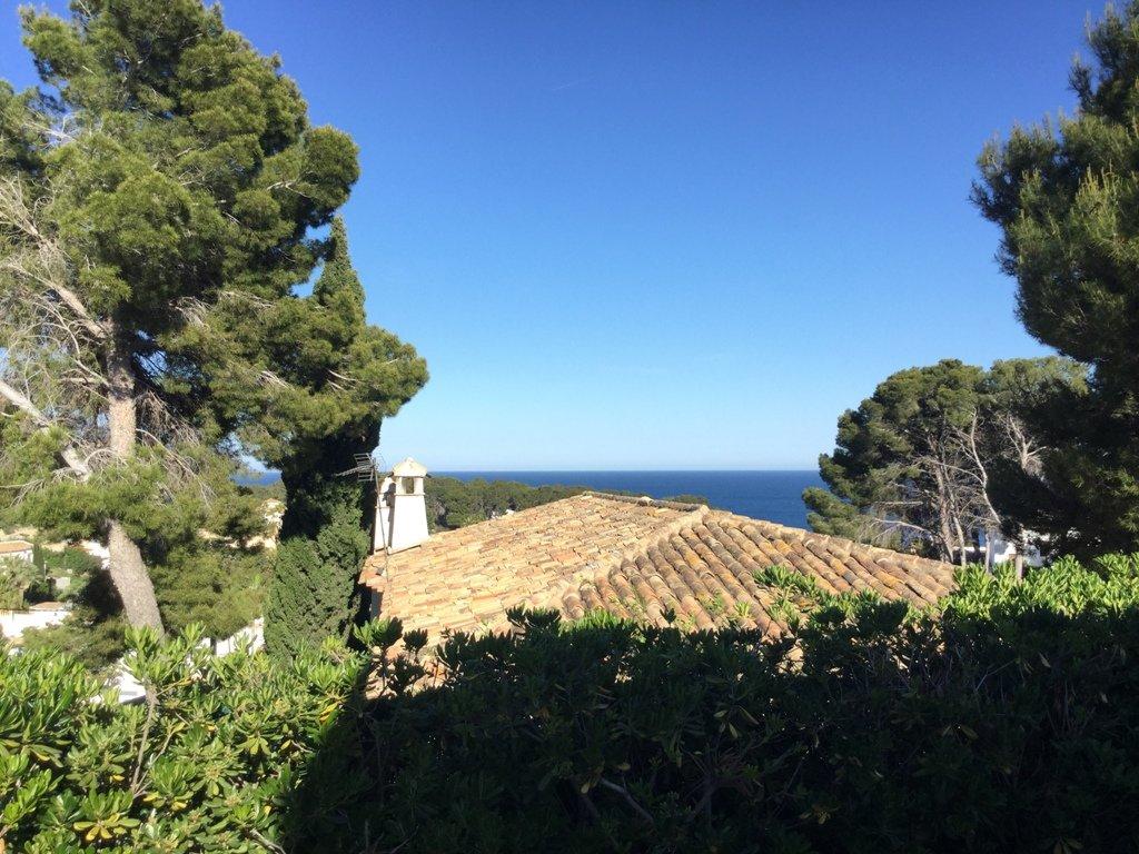 Villa in La Fustera with sea views
