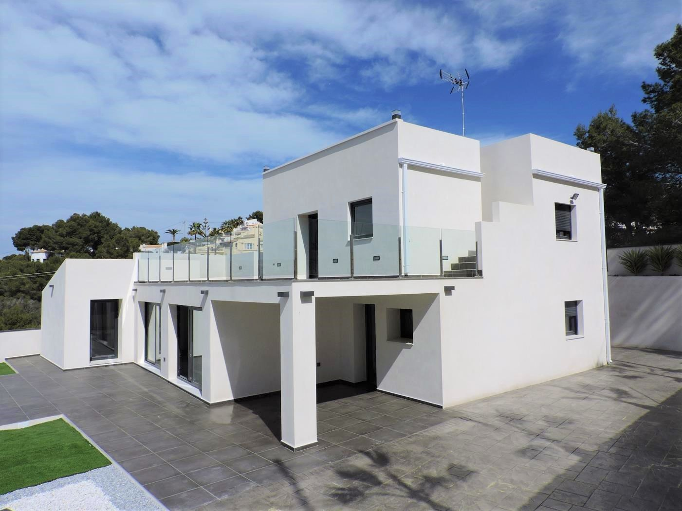 Renovated villa in modern style in Moraira