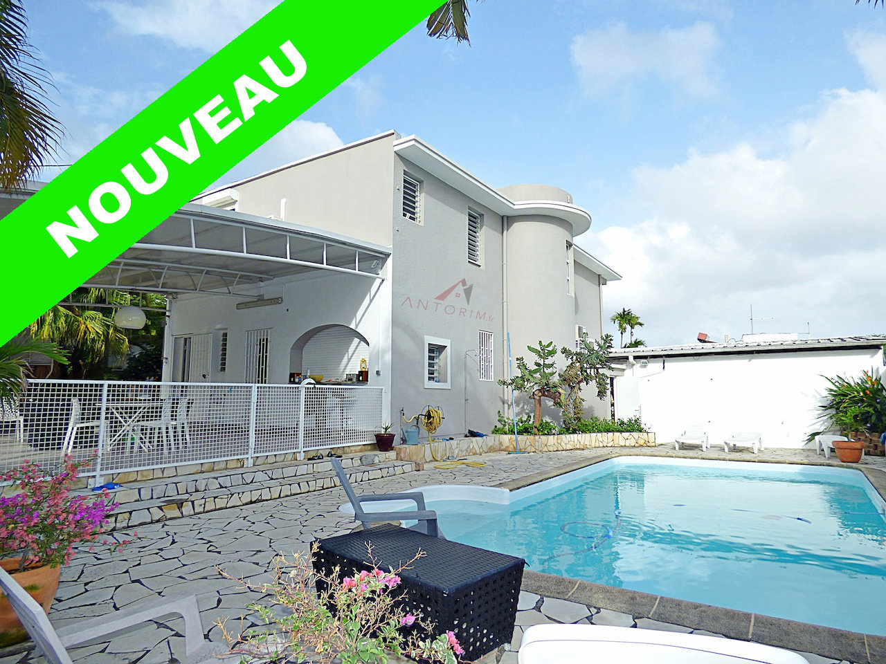 FORT-DE-FRANCE - DIDIER - Belle villa T5 - Piscine - Jardin - Calme