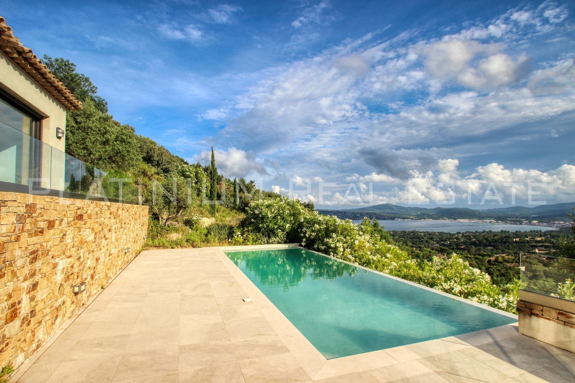 GRIMAUD - VILLA 266 m2 - 4 bedrooms - Panoramic sea view - Swimming pool