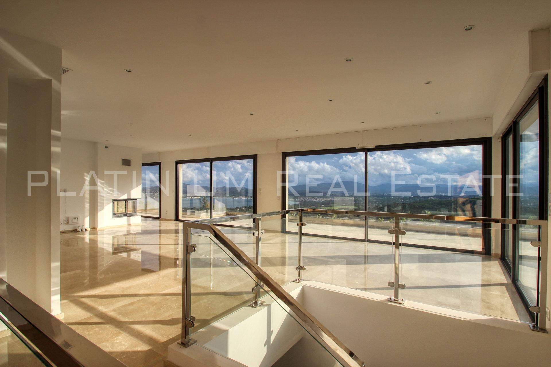 "GRIMAUD ""Beauvallon"" - VILLA 266 m² | 4 chambres | Vue panoramique mer | Piscine"