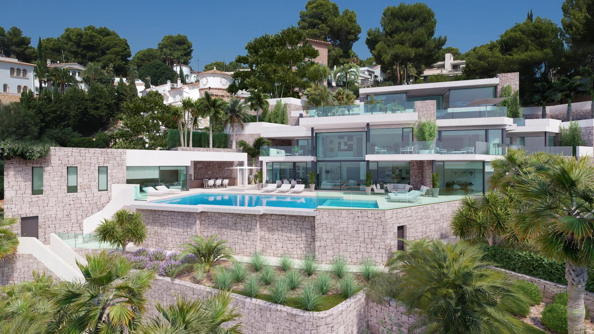 Villa de première ligne à Moraira