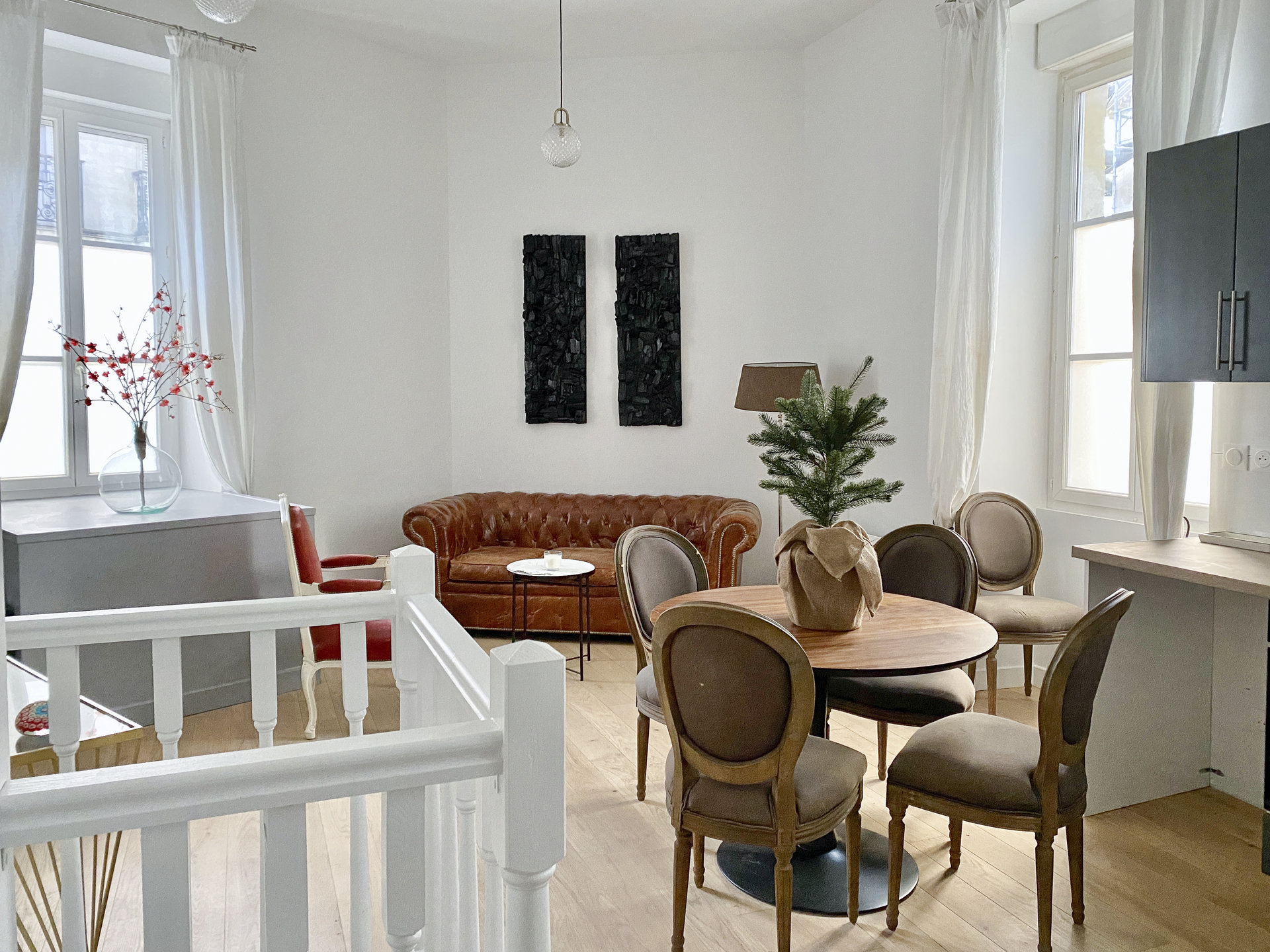 Appartement atypique entièrement rénové