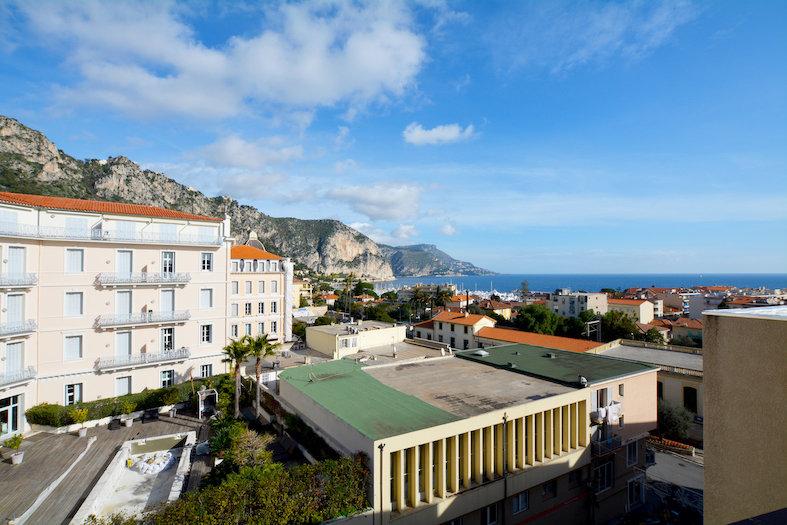 Sale apartment Beaulieu sur Mer top floor panoramic sea view