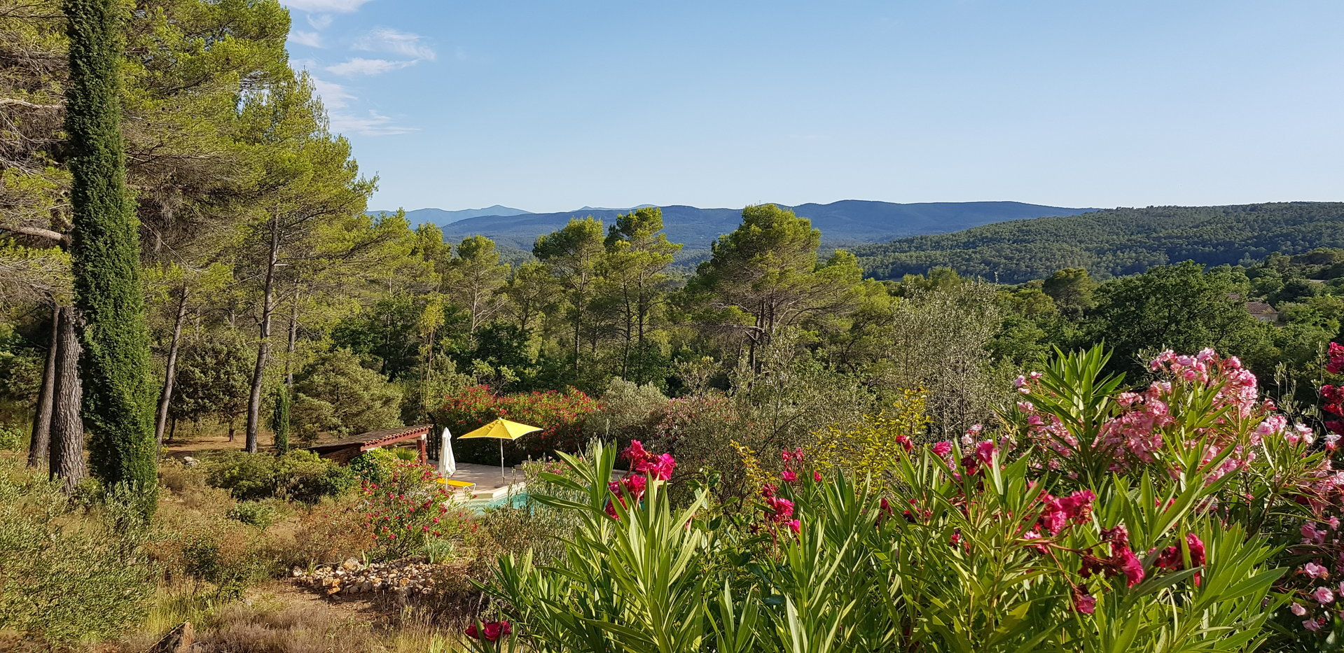 Villa in the Provence with breathtaking view.
