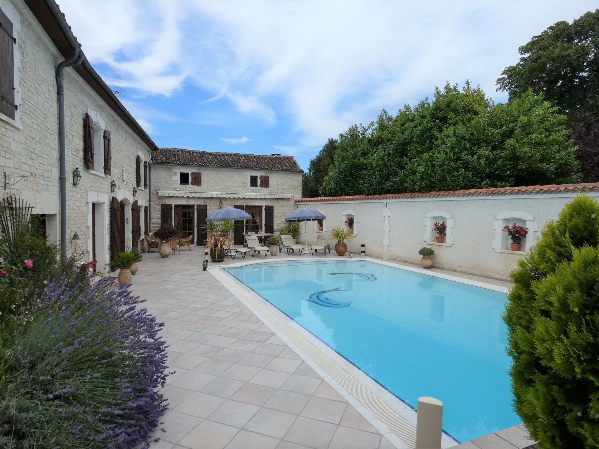 House of character with Gite and swimming pool