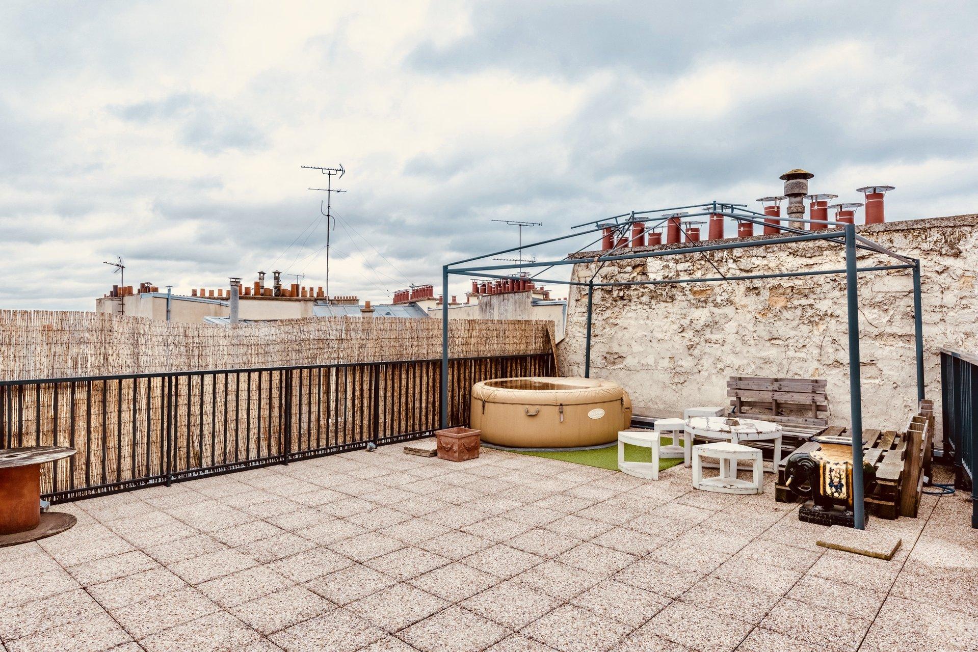 4 pièces - Toit terrasse - Dernier étage - Lamarck Caulaincourt