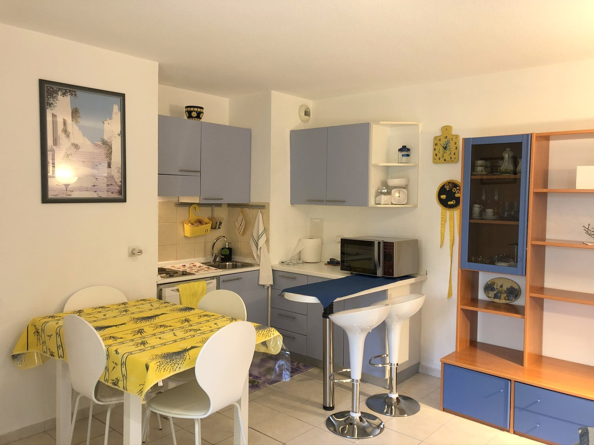Location Nice, 2 pièces meublé 34.41m² avec garage secteur Tnl