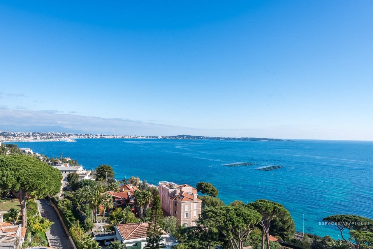 Atypical, unique and exceptional 2 bedroom sea view - Cannes