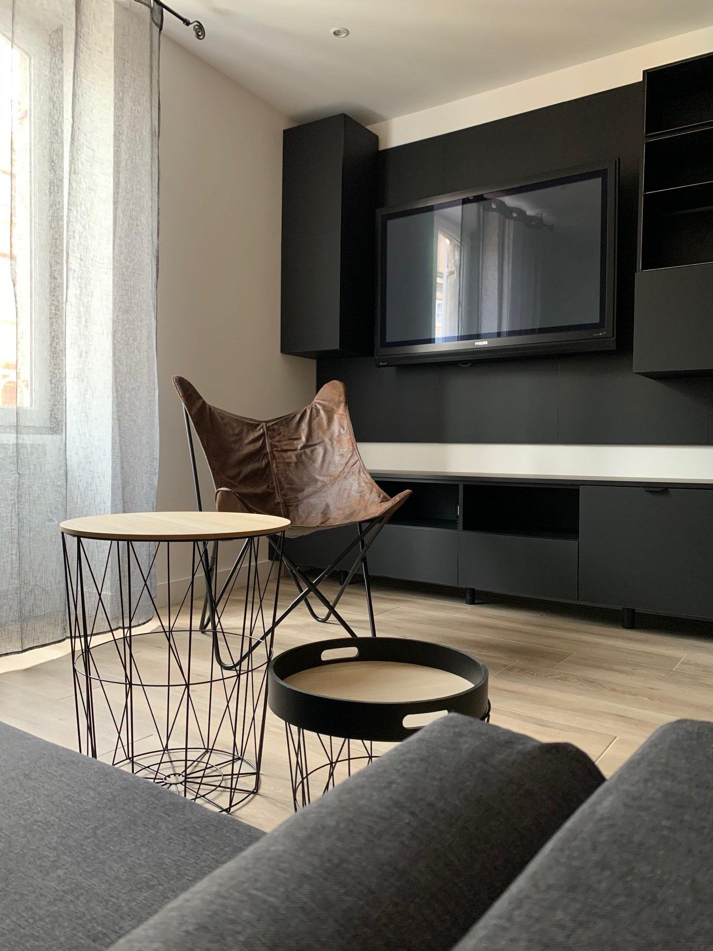 T2 meublé centre ville de Villefranche S/S