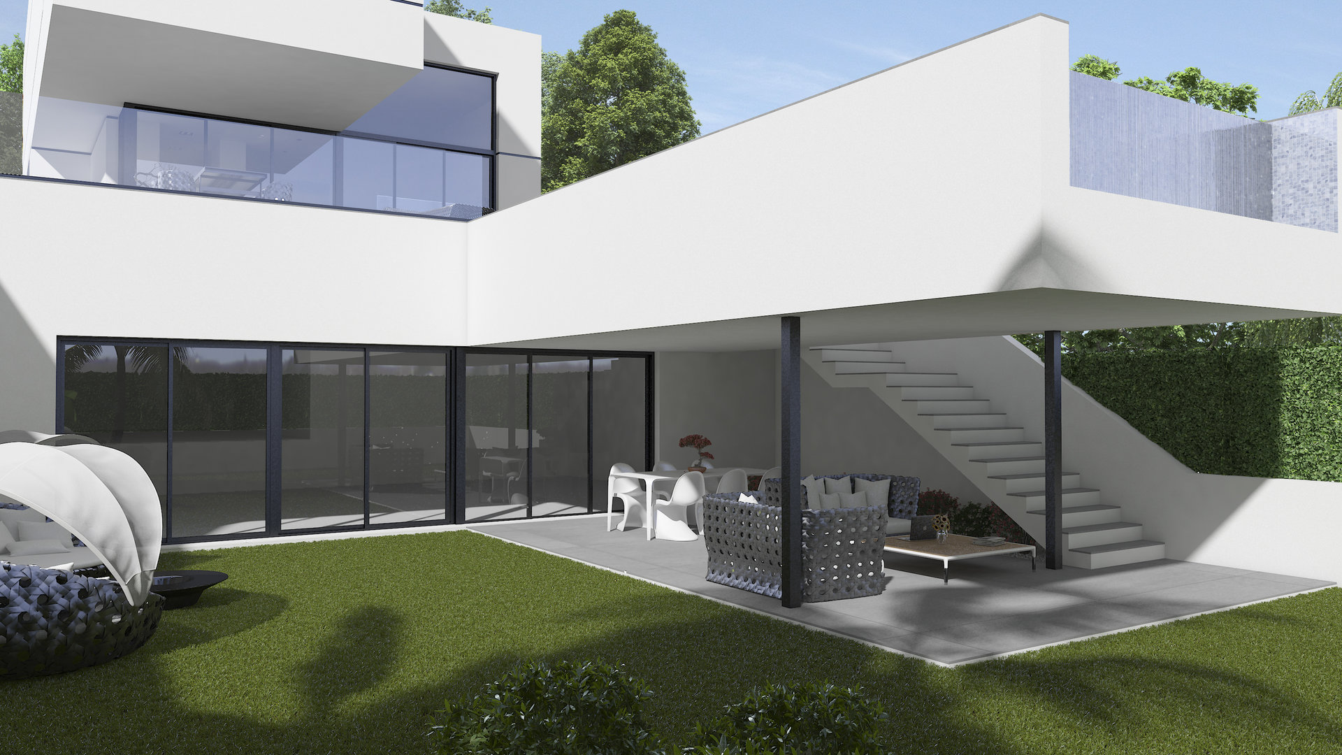 New residential with unique properties in Polop