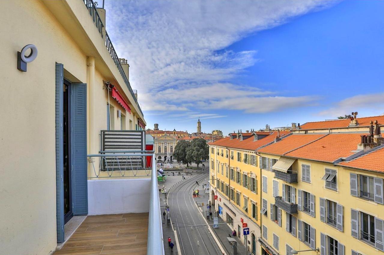 Vente Appartement 2P 47m² Nice Place Garibaldi Terrasse Balcon