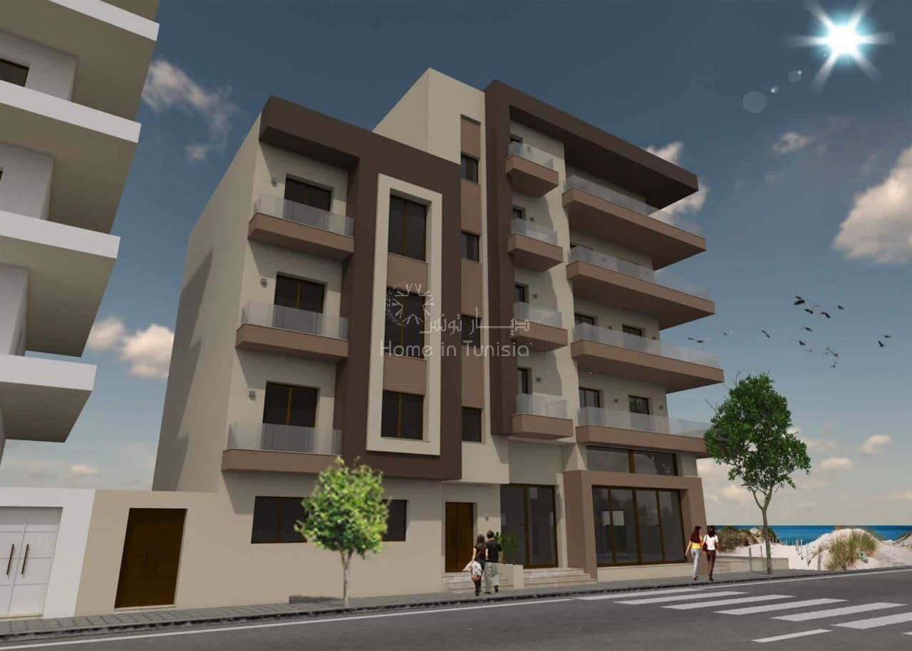 VENTE 7 APPARTEMENTS FRONT MER S+3
