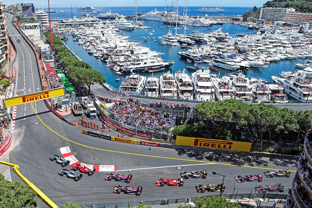 """ Le Panorama "" - Вид на Grand Prix"
